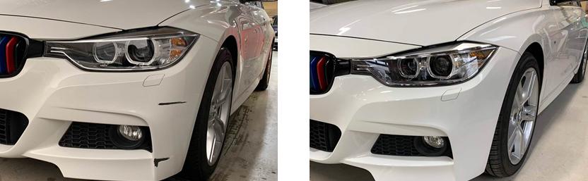 BMW フロント・リアバンパーを修理